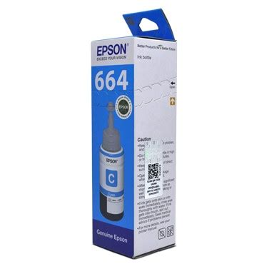 Epson Ink Bottle T6642 Cyan epson cyan ink bottle 70ml buy printer ink