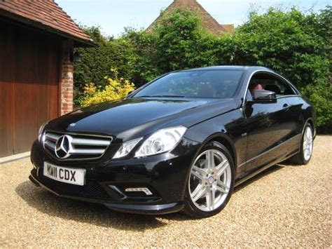 mercedes coupe for sale mercedes e250 cdi blueefficiency amg sport coupe for