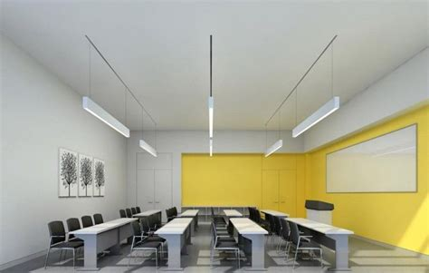 modern wall colors sophisticated modern classroom interior design with yellow
