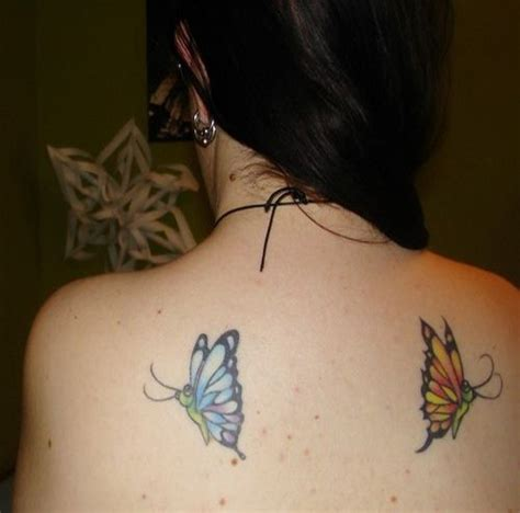 25 unique butterfly shoulder tattoo best 25 unique butterfly tattoos ideas on