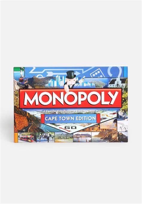 Promo Monopoly Monopoli The Original city monopoly cape town hasbro superbalist