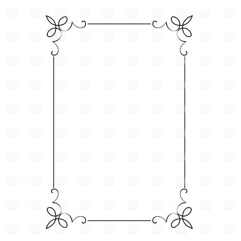 decorative bed frame feet vintage frame decorative frame free vectors vectors free