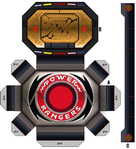 How To Make A Paper Power Ranger Morpher - power rangers power morpher pep by dreamer on