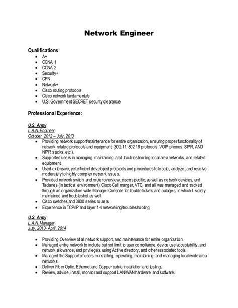 senior network engineer resume network engineer resume example key