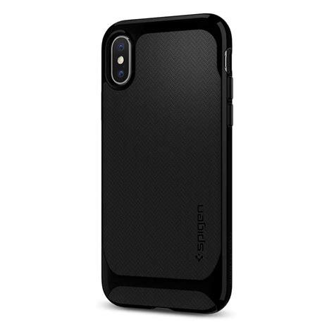 Iphone X Spigen Neo Hybrid Shiny Black spigen 174 neo hybrid 057cs22166 iphone x jet black