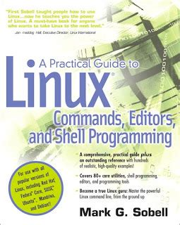a practical guide to linux commands editors and shell programming 4th edition books most highly recommended books about linux techsource