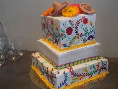 mexican theme cake mexican decor