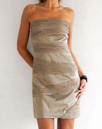 Robe Bustier Beige Moulante - location de robe bustier beige bi mati 232 re robe courte