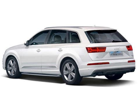 Audi Q7 Sedan by Audi Launches Design Editions Of Suv Q7 And A6 Sedan At Rs