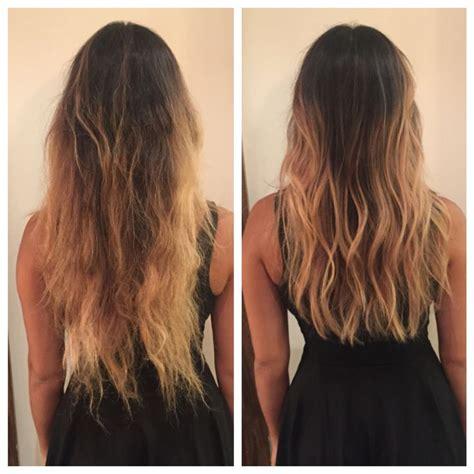 before and after medium layered haircuts nice before and after long layers haircut soft undercut