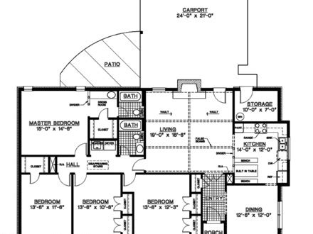 large one story house plans large one story house plans single story modern house