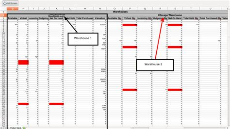 Inventory Template Excel 2010 by Excel Spreadsheet For Warehouse Inventory Pccatlantic