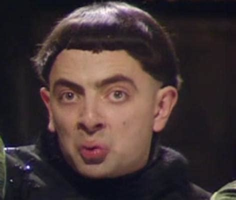 Duck Face Meme - rowan atkinson duckface duck face know your meme