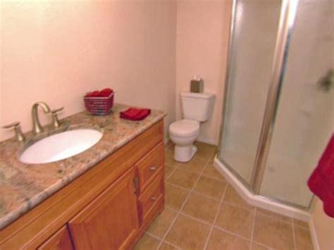 how to lay tile in a bathroom how to install tile on a bathroom floor hgtv