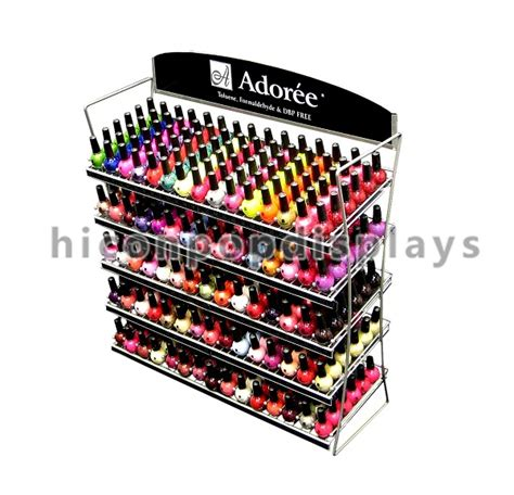 Portable Spice Rack Cosmetic Portable Spice Rack Nail Holder Cases