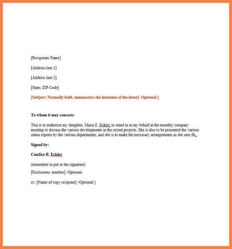authorization letter sle company 28 images sle authorization letter 11 free documents in