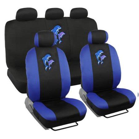 bdk dolphins design car seat covers full set universal