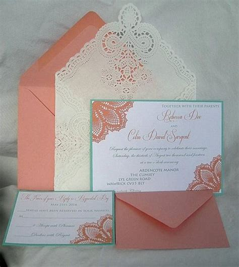 coloured wedding invitations turquoise and coral wedding cake images