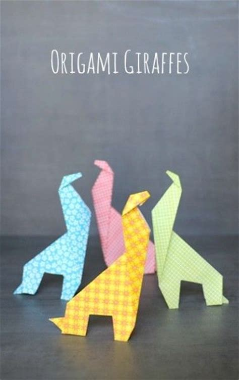 Easy Origami Giraffe - origami for make an easy origami giraffe