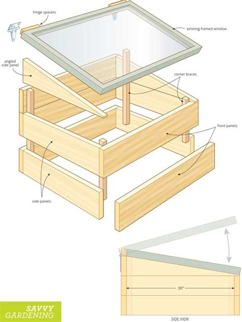 design cold frame build a diy cold frame using an old window