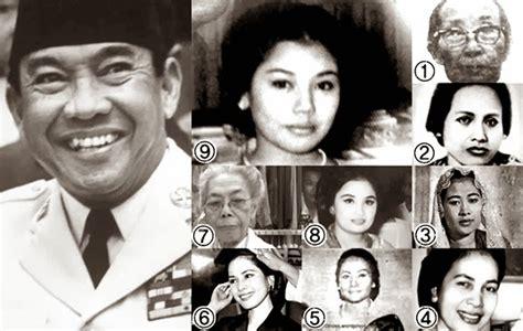 Cinta Hati Istri Istri Sukarno soekarno dan 9 istrinya kisah percintaan seorang