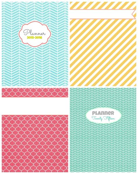 printable planner cover 2015 free printable 2015 planner gluesticks