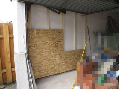 Garage Innen Verkleiden by Projekt Der Garage Zur Werkstatt Wand Mit Osb