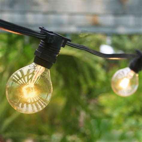 globe patio string lights commercial outdoor patio globe string lights 54