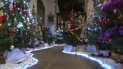 bbc news st edburg s church bicester holds christmas