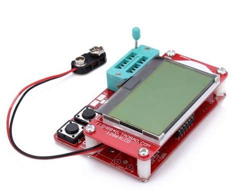 capacitor esr failure small m8 12864 lcd mega328 transistor tester capacitance esr meter diode triode mos pnp npn lcr