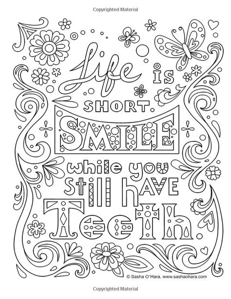 images  words colouring pages  adults