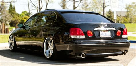 Ca Socali 99 Bagged Lexus Gs300 Black On Black