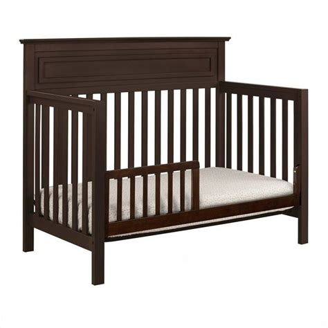 Davinci Autumn 4 In 1 Convertible Crib In Espresso With Convertible Crib Espresso