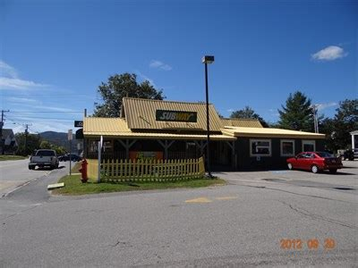 lincoln maine restaurants subway 159 st lincoln nh subway restaurants on