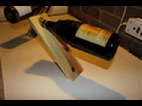 Single Wine Bottle Holder woodworking projects magic wine bottle holder youtube