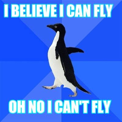 I Believe I Can Fly Meme - meme creator i believe i can fly oh no i can t fly meme
