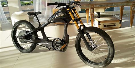 E Bike Cruiser by Carbon Electric Bike Made In Carbon Lab Evnerds