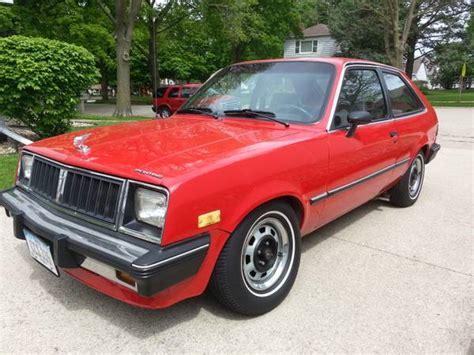 Pontiac T1000 For Sale Bangshift 1984 Pontiac T1000