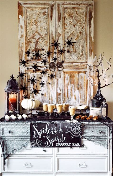 themes in house of spirits paper flowers dessert tables and halloween on pinterest
