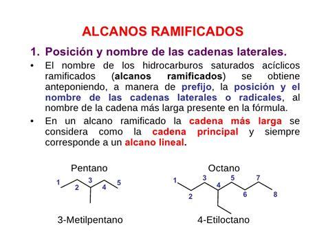 cadenas ramificadas nomenclatura nomenclatura org 225 nica