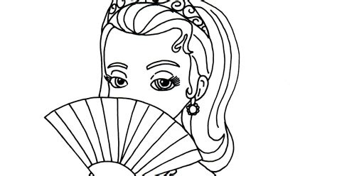 sofia the first coloring pages princess amber sofia the