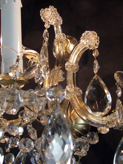 applique teresa quattro appliques teresa in cristallo di bohemia