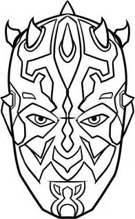 darth maul coloring page free coloring pages of darth maul to color in