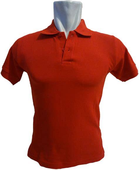 Polo Polos Kaos Polo Poloshirt Baju Polo Polo Kaos Kerah 1 kaos polos merah png clipart best