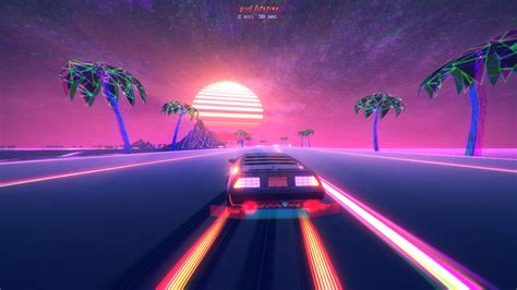 vibes retro style outdrive video games
