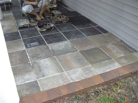 Design For Outdoor Slate Tile Ideas Patio Floor Tiles