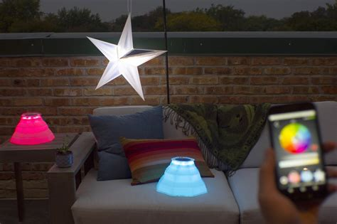 lights for your phone revitalize any outdoor area with colorful solar lights