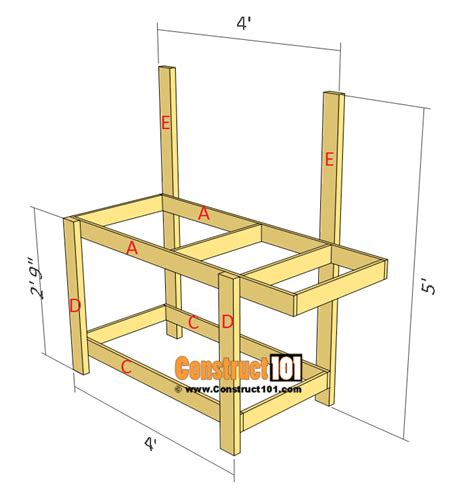 simple potting bench plans simple potting bench plans outdoor diy project