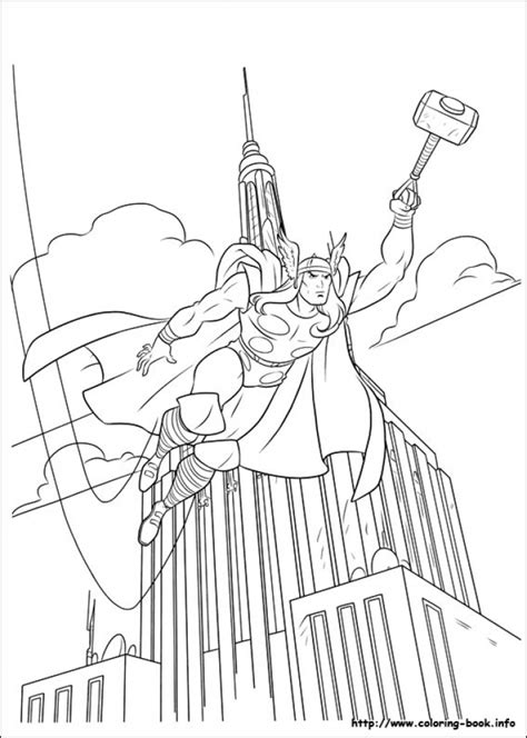 thor coloring pages online get this online thor coloring pages 61800
