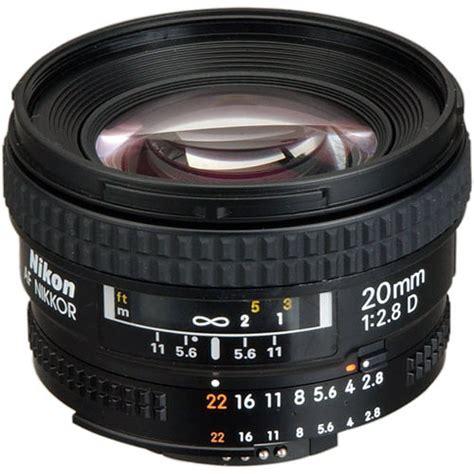 Nikon Af 20mm F 2 8d Lens nikon af nikkor 20mm f 2 8d lens 1913 b h photo